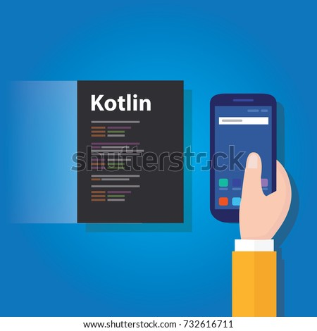 kotlin mobile application programming language coding software technology