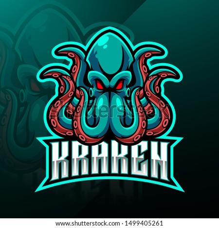 kraken octopus esport mascot