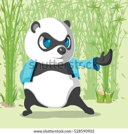 kungfu panda cute character