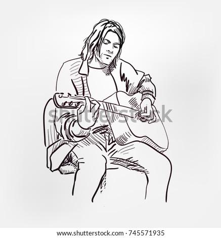 kurt donald cobain rock star