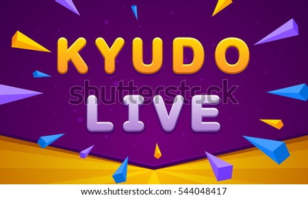 kyudo live banner triangle