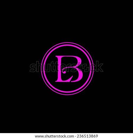 L and B initials vector logo Stock fotó ©