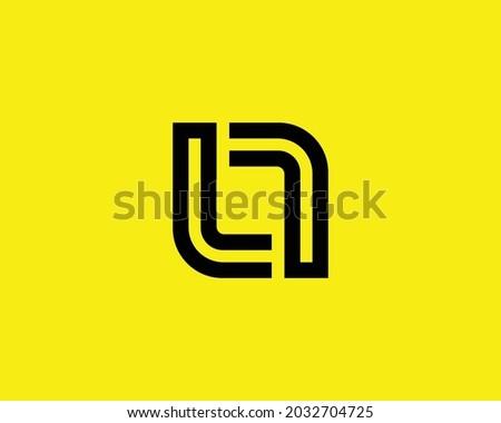 L and ll logo design vector template Stock fotó ©