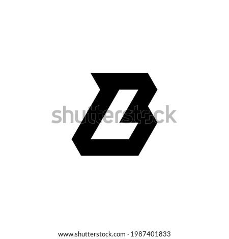 l b lb bl initial logo design vector template Stock fotó ©