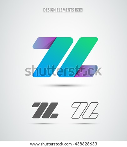 l company vector sign and logo