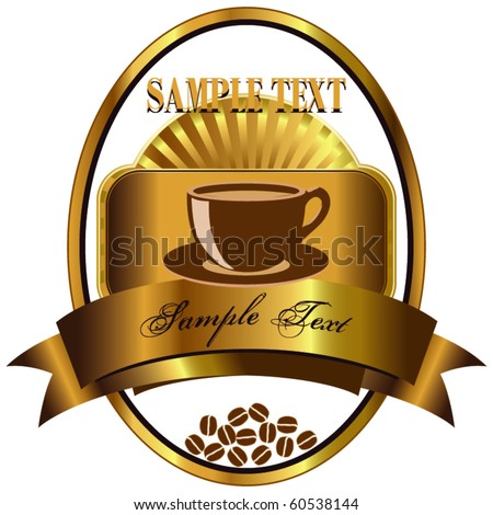 Label for coffee 2