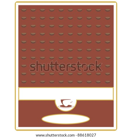 Label for coffee