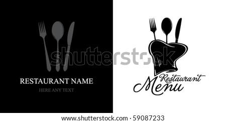 Label for restaurant menu