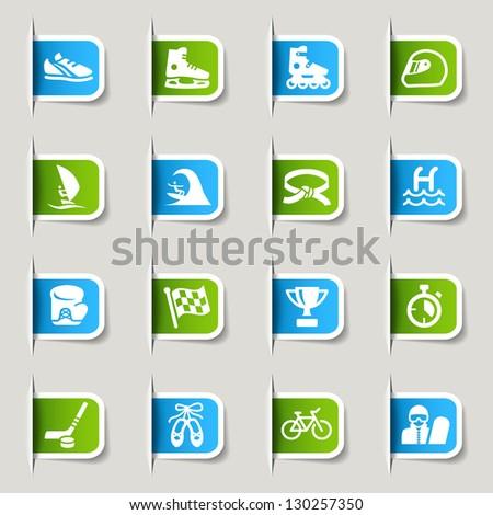 Label - Sport icons
