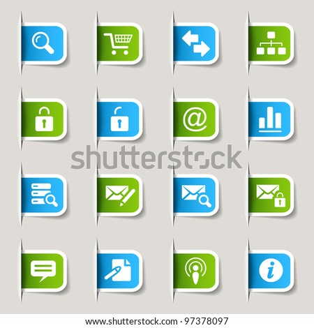 Label - Website and Internet Icons