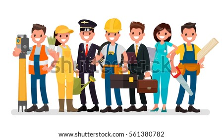 stock-vector-labor-day-a-group-of-people-of-different-professions-on-a-white-background-vector-illustration-in