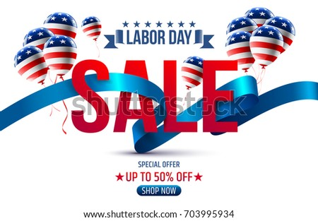 Free Labor Day Banner Illustration  Download Free Vector Art Stock
