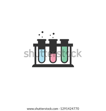 Laboratory equipment icon.Laboratory equipment.Chemistry equipment.