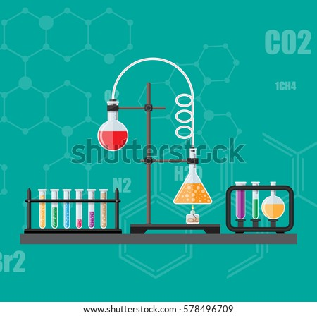 laboratory equipment  jars