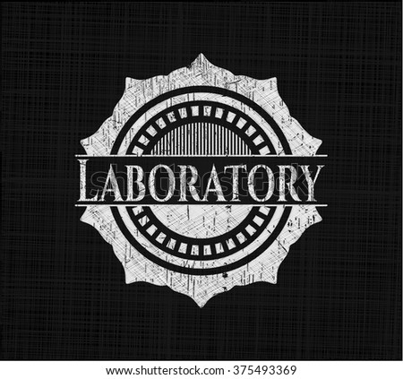 Laboratory on blackboard
