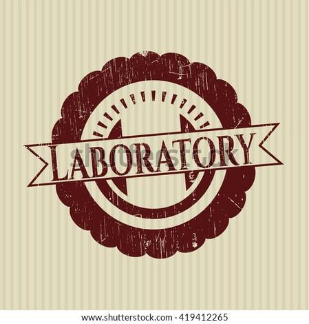 Laboratory rubber seal