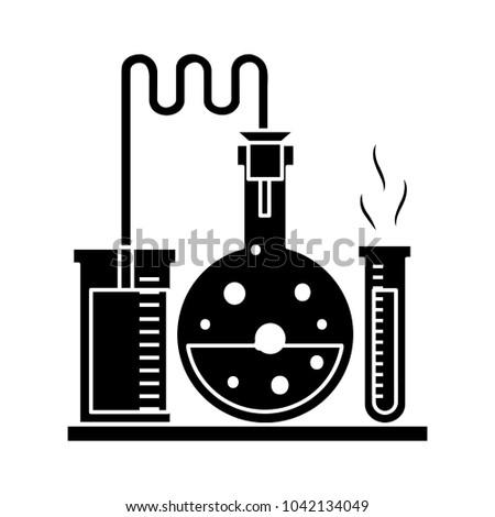 laboratory tubes icon