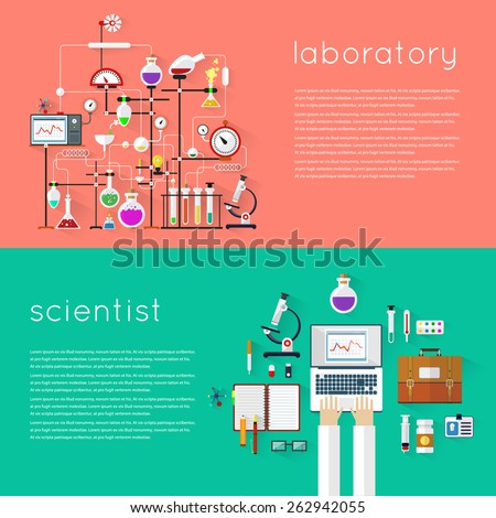 laboratory workspace and