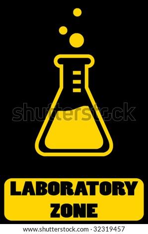 laboratory zone illustration