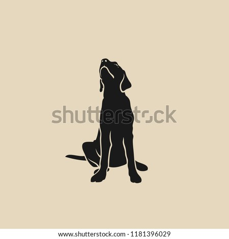 Stock Photo Labrador Retriever - isolated vector illustration
