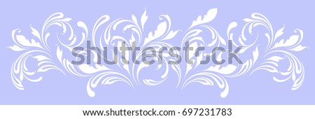 lace border for decoration of