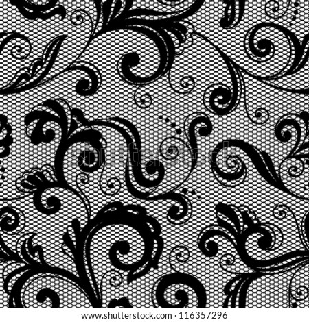 Lace floral background. Seamless pattern for your design wallpapers, pattern fills, web page backgrounds, surface textures.