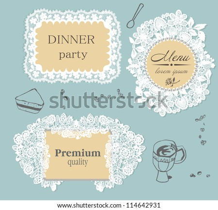 lace frame labels