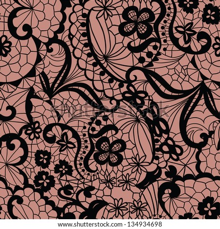 lace seamless pattern with