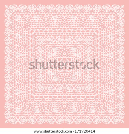 lacy vintage background. vector ...