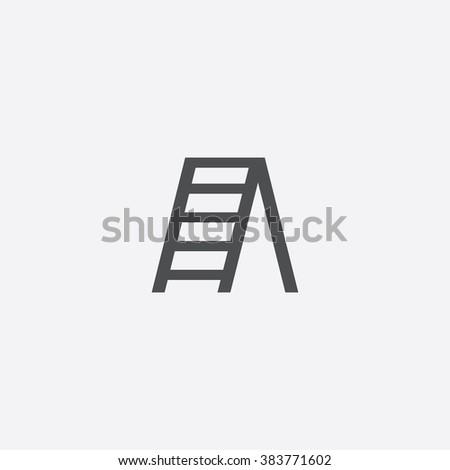 ladder icon ladder icon vector