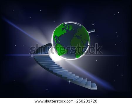ladder to heaven a spiral