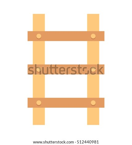 Ladder Vector Icon stock photo