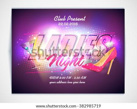ladies night party celebration