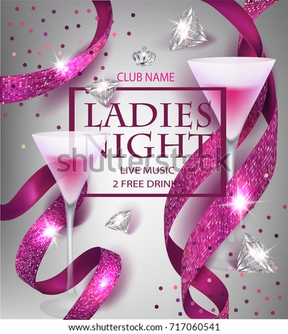 ladies night party invitation
