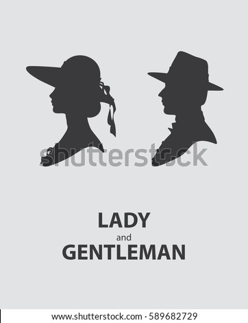 lady and gentleman