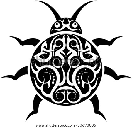 ladybug vector hawaii tattoo - photo #1