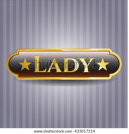 Lady gold emblem