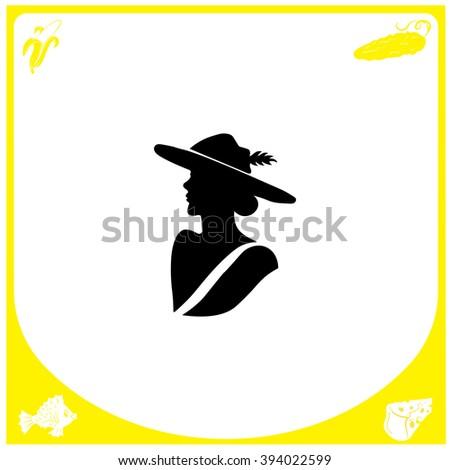 lady icon lady icon vector