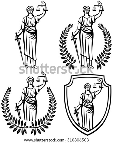 lady justice  greek goddess