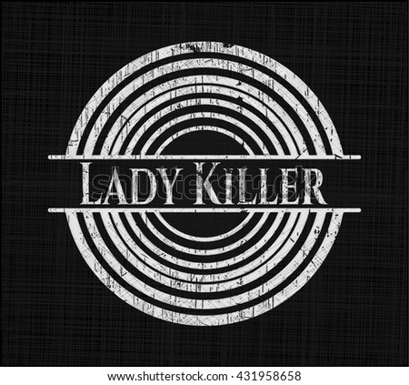 Lady Killer chalk emblem