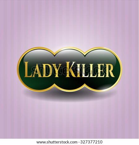 Lady Killer golden emblem