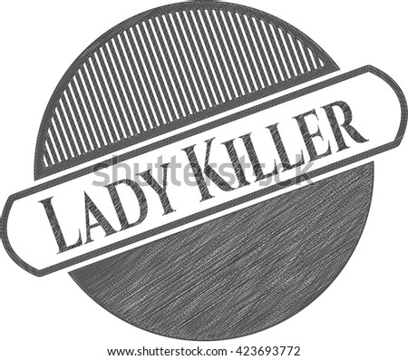 Lady Killer penciled
