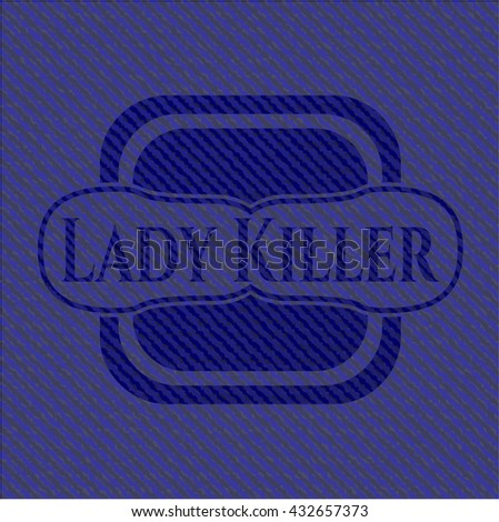 Lady Killer with jean texture