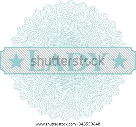 Lady money style rosette