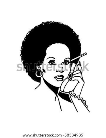 clip art phone. Phone 2 - Retro Clip Art