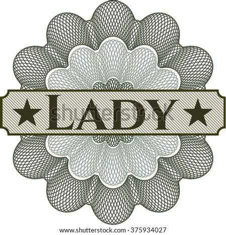 Lady rosette