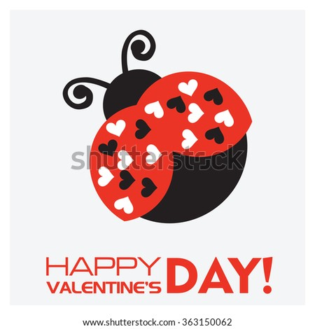 ladybirds and valentine's day