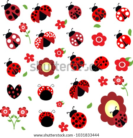A ladybug vector free vector art at vecteezy ladybug vector collection stopboris Image collections