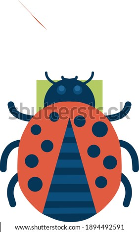 ladybugs are small insects and