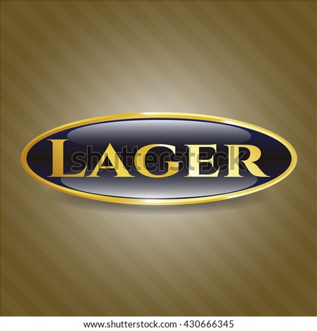 Lager shiny badge